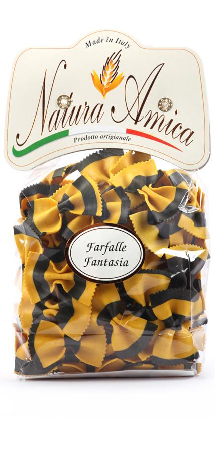 Farfalle Fantasia Giallo&Nero