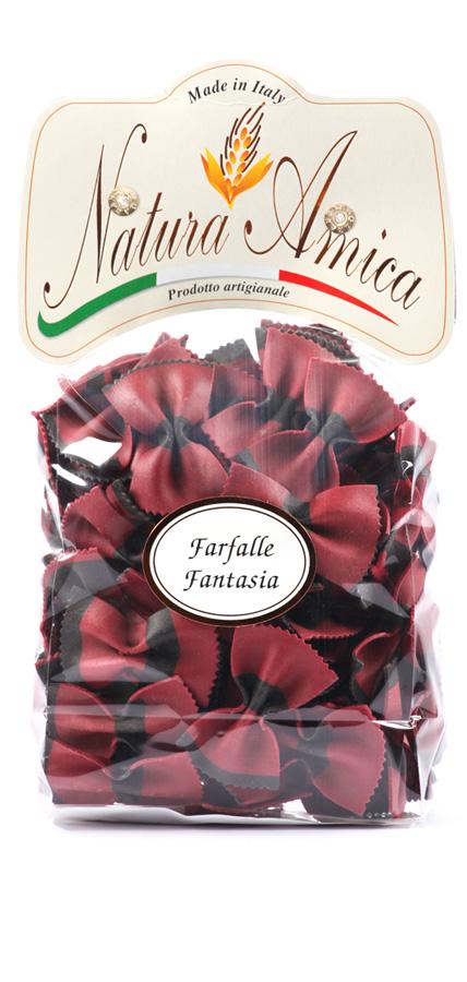 Farfalle Fantasia Rosso&Nero