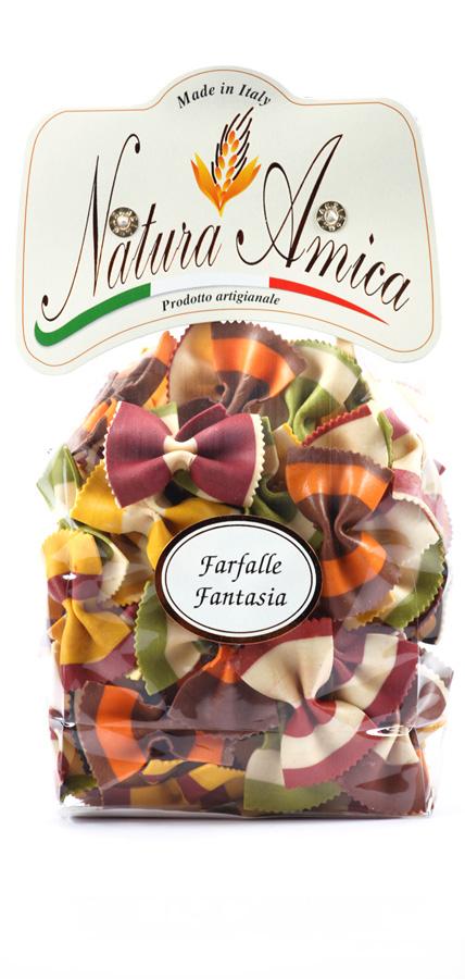 Farfalle fantasia multicolori